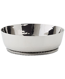 Michael Aram Twist Low Bowl