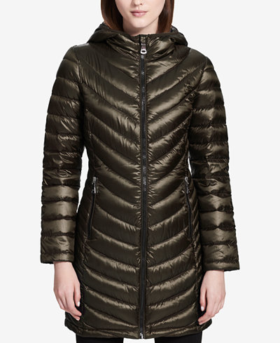 Calvin Klein Packable Puffer Coat, Created for Macy's