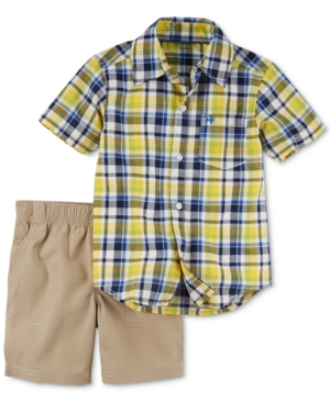 Carter's 2-Pc. Plaid...