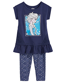Disney's® Frozen Elsa 2-Pc. Tunic & Leggings Set, Baby Girls