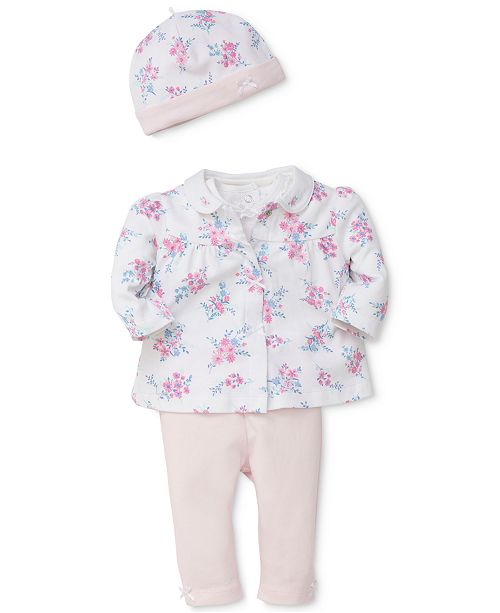 f0214d1ef57b Little Me 4-Pc. Cotton Jacket