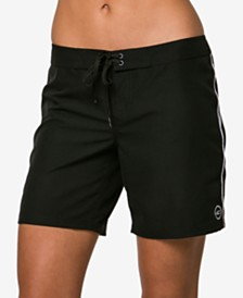 "O'Neill Juniors' Salt Water Solids 7"" Board Shorts"