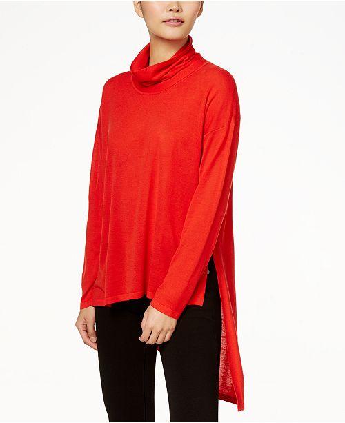 Neck Eileen Lava Cowl Sweater Wool Fisher tBqxBYU