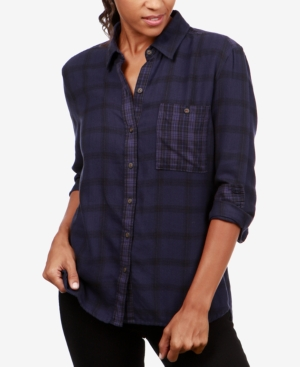 Lucky Brand Plaid Button-Down...