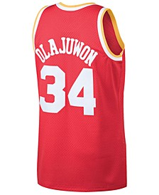 Men's Hakeem Olajuwon Houston Rockets Hardwood Classic Swingman Jersey