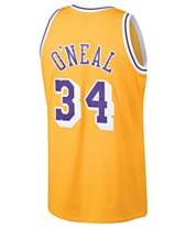 5042c3358 Mitchell   Ness Men s Shaquille O Neal Los Angeles Lakers Hardwood Classic  Swingman Jersey