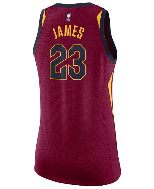 ab7d64ba2730 ... Nike Women's LeBron James Cleveland Cavaliers Swingman Jersey ...