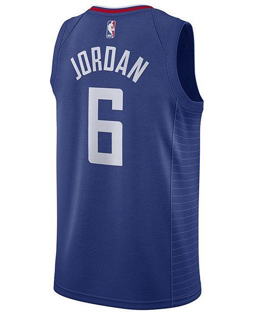 d39090b0986 ... Nike Men s DeAndre Jordan Los Angeles Clippers Icon Swingman Jersey ...