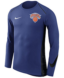 Nike Men's New York Knicks Hyperlite Shooter Long Sleeve T-Shirt