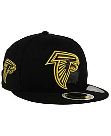 New Era Atlanta Falcons State Flective Metallic 59FIFTY Fitted Cap