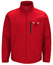 G-III Sports Men's Chicago Bulls Soft Shell Full-Zip Jacket