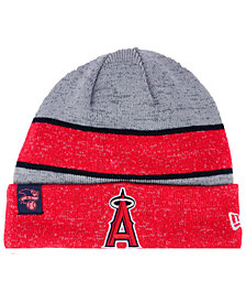 New Era Los Angeles Angels On Field Sport Knit Hat
