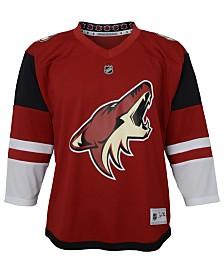 Authentic NHL Apparel Arizona Coyotes Blank Replica Jersey, Big Boys (8-20)