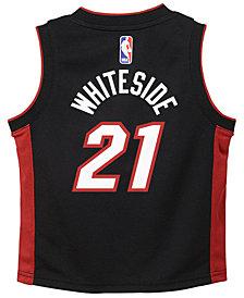 Nike Hassan Whiteside Miami Heat Icon Replica Jersey, Little Boys (4-7)