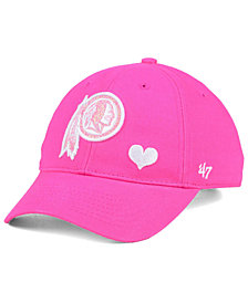 '47 Brand Girls' Washington Redskins Sugar Sweet MVP Cap