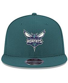New Era Charlotte Hornets Basic Link 9FIFTY Snapback Cap