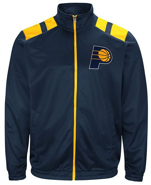 G-III Sports G-III Men's Sports Indiana Pacers Broad Jump Track Jacket