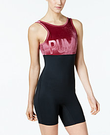 Puma Velvet Unitard Bodysuit