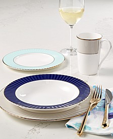 Pleated Colors Dinnerware Collection