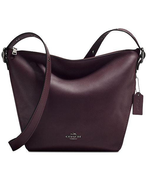 f0e35816 COACH Large Crossbody Dufflette & Reviews - Handbags & Accessories ...