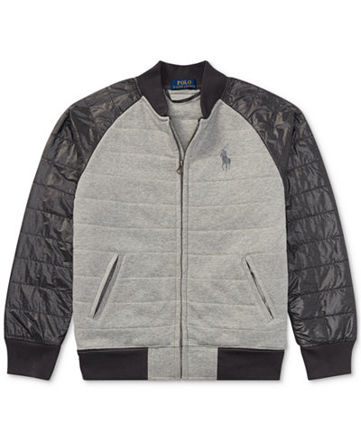Ralph Lauren Baseball Jacket, Big Boys (8-20) - Coats & Jackets ...