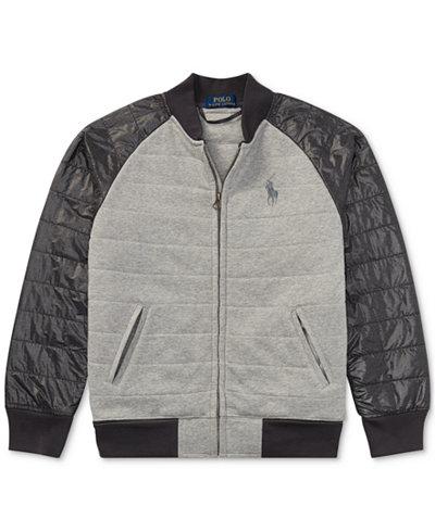 Ralph Lauren Baseball Jacket, Big Boys (8-20) - Coats & Jackets ...