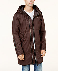 G-Star RAW Men's Strett Full-Zip Hooded Parka