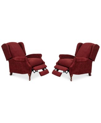 Edie Fabric Recliner Chairs Set of 2  sc 1 st  Macyu0027s & Accent Chairs and Recliners - Macyu0027s islam-shia.org