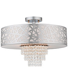 Livex Allendale 4-Light Semi Flush