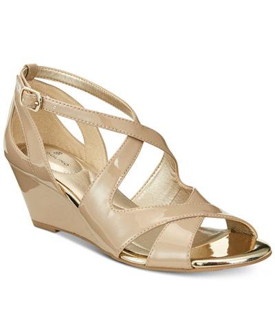 Bandolino Omit Wedge Sandals