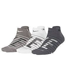 Nike 3-Pk. Dry Cushioned Low Training Socks