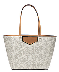 Calvin Klein Ashlynn Signature Extra-Large Tote