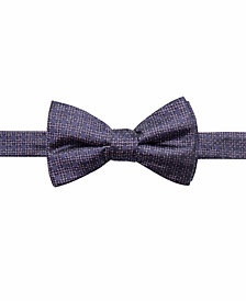 Ryan Seacrest Distinction™ Men's Cambria Neat Pre-Tied Silk Bow Tie, Created for Macy's
