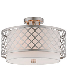 Livex Arabesque 3-Light Flush Mount