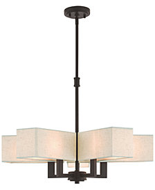 Livex Rubix 5-Light Chandelier
