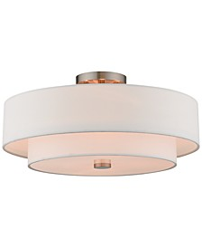 Claremont 4-Light Semi-Flush Mount
