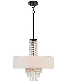 Livex Carlisle 4-Light Pendant Chandelier