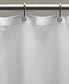 """Weighted Fabric 70"""" x 72"""" Shower Curtain Liner"""