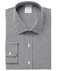 Brooks Brothers Men's Extra Slim-Fit Non-Iron Gingham Dobby Square Dress Shirt