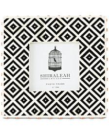 Shiraleah Loft Ikat 4'' x 4'' Picture Frame