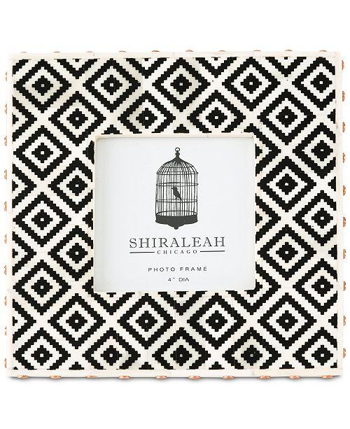 Shiraleah Loft Ikat 4 X 4 Picture Frame Picture Frames Macys