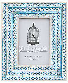 Shiraleah Boheme Chain Inlay 4'' x 6'' Picture Frame