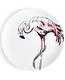 CLOSEOUT! The Cellar Tropicalia Flamingo Salad Plate, Created for Macy's