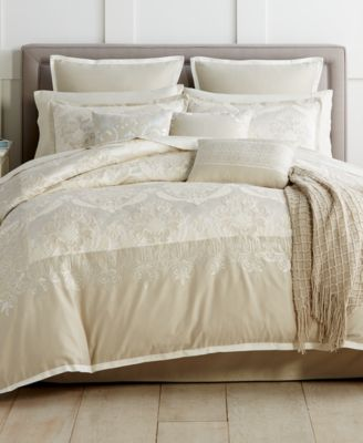 emilia embroidered 14piece king comforter set