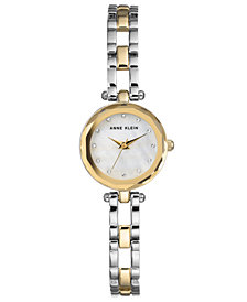 Anne Klein Women's Two-Tone Bracelet Watch 22.5mm