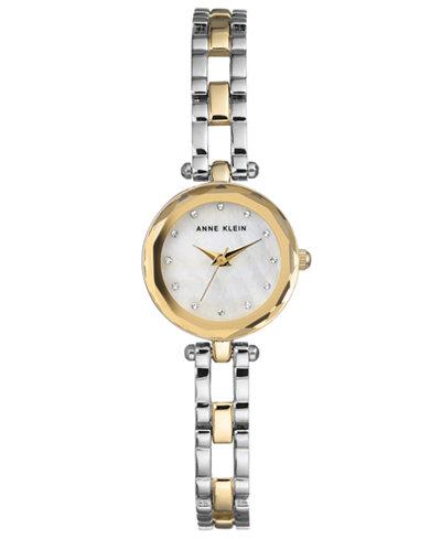 Anne Klein Women's Two-Tone Bracelet Watch 22.5mm