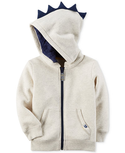 Carter's Dino Full-Zip Hoodie, Little Boys & Big Boys