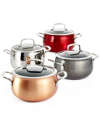 Belgique 3-Qt. Soup Pots, Created for Macy's