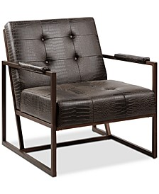 York Leather Lounger