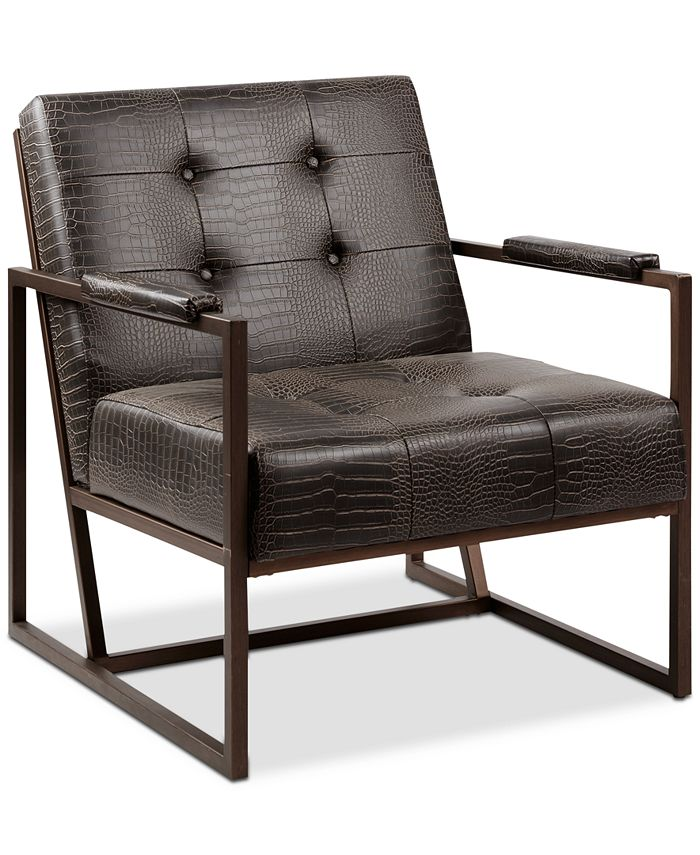 Furniture - York Leather Lounger